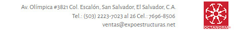 Expoestructuras El Salvador